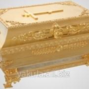 Ковчег для частиц святых мощей 500*300 золочение фото
