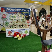 Вечеринка в стиле Angry Birds фото