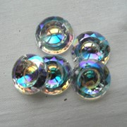 Стразы пришивные (круг) фото