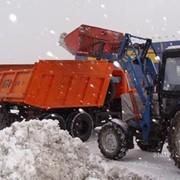 Уборка и вывоз снега и мусора фото
