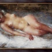 Картина Модель с волосами цвета льна, Глюкман, Григорий фото