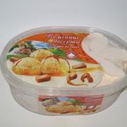 Лоток Семейные десерты карамельное с кусочками карамели фото