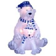 Надувная фигура медведица с медвежонком фото