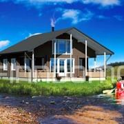 Дачный каркасный дом Астра фото