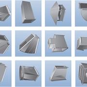 Воздуховоды и фасонные элементы из оцинкованной и нержавеющей сталей фото