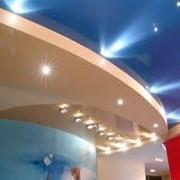 Натяжные потолки из полиэстера фото