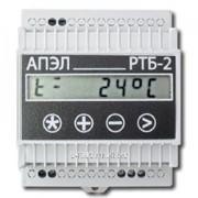 Регулятор температуры бытовой РТБ-2 в корпусе DIN фото