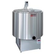 Танк-охладитель молока, вертикальный, цилиндрической формы, открытого типа фото