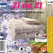 Одеяло двойное 2-в-1 зима-лето «zi de zi»  фото