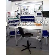 Эргономичные рабочие столы из алюминиевого профиля, промышленная мебель фото