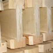 Балка деревянная (Н20) для опалубки перекрытий фото