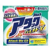 Концентрированный стиральный порошок Attack BioEX 1 кг фото