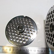 ZI3208.0U1P.852.0 Решетка усиленная INOX #32 для промышленной мясорубки системы ENTERPRISE (Д-98/13мм, раб. отв. 8мм) фото