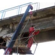 Ремонт и усиление железобетонных конструкций, торкретирование. фото