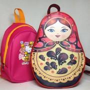 Рюкзаки детские фото