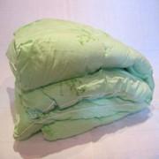 Одеяло детское с бамбуковым наполнителем в тике - 100% хлопке размером 110*140 см. фото