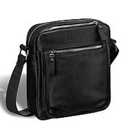 Вертикальная сумка через плечо BRIALDI Todi (Тоди) relief black фото