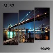 Картина модульная М-32, размер 60х90 фото