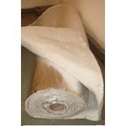 Одеяло огнеупорное муллитокремнеземистое фольгированное фото