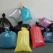Полиэтиленовые мешки из полиэтилена высокого или низкого давления фото