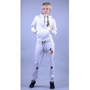 Спортивный костюм Микки белый Код: 069/О фото
