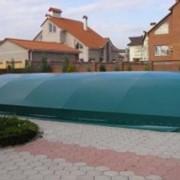Укрытие для бассейна,накидка для бассейна,чехол на бассейн. фото