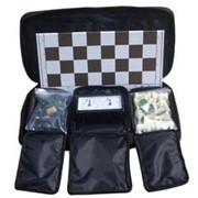 Шахматы, Настольный шахматный набор фото