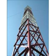 Монтаж-демонтаж оборудования на башни и мачты связи и освещения фото