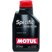 SPECIFIC 504 00 507 00 5W30 1л - 838711- 100% синтетическое моторное масло фото