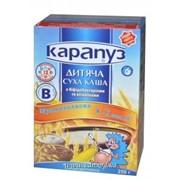 Каша Карапуз б/м 8 злаков с бифидобактериями с сахаром фото