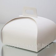 Картонная упаковка для торта фото