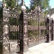 Изготовление кованных Ворот фото