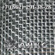 Сетка 4х4х1 тканая нержавеющая 12х18н10т 2-4-1 ГОСТ 3826-82 с квадратными ячейками фото