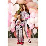 """Спортивные костюмы для мамы и дочки """"Stylish"""" (3 расцветки) фото"""