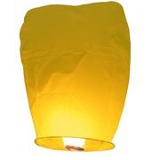 Небесный небесный фонарик желтый фото