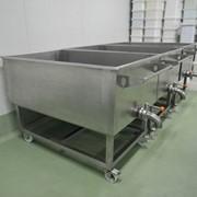 Изготовление ванн для сбора молока фото