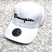 Кепка Champion плетёная крупной вязки белая фото