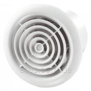 Бытовой вентилятор d100 Вентс 100 ПФ графіт фото