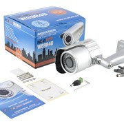 """NOVICAM W69UR Видеокамера цветная погодозащищённая IP66 высокого разрешения, с ИК-подсветкой 30м, матрица 960H ULTRAFIO SHARP 1/3"""", 0.05 люкс, 700 ТВ линий, встроенное МЕНЮ, 12v DC, вариофокальный объектив 2.8~12мм фото"""