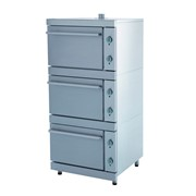 Шкаф жарочный ЭШВ-3 (820х840х1870),15 кВт., 380 В, 3 секции фото