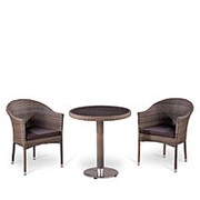 Комплект плетеной мебели T501DG/Y350G-W1289 Pale 2Pcs фото