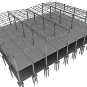 Проектирование металлоконструкций ангаров фото