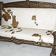 Мебель состаренная, диваны под старину, диваны дубовые с резьбой фото