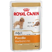 Royal Canin 85г пауч Poodle Adult Влажный корм для взрослых собак породы Пудель с 10 месяцев (паштет фото