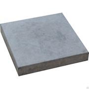 Тротуарная плитка Квадрат 500х500х70 серая фото