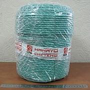 Шнур капроновый плетеный для суперстатической нагрузки д.7мм (полиамидный) фото