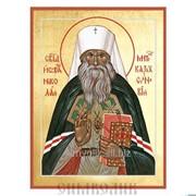 Икона свт. Николай, Могилевский, митрополит Казахстанский фото