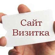 Изготовление сайта визитки на платформе all.biz, Украина фото