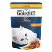 Корм для котов Gourmet Perle паучи с курицей в подливке фото