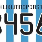 Номера для футбольных форм оптом фото